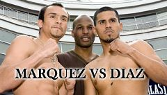 Marquez vs Diaz fight