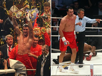 Klitschko vs Chambers Boxing Fight Photos