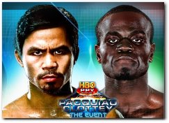 Manny Pacquiao vs Joshua Clottey - The Event - Boxing Fight