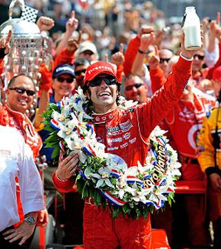 Dario Franchitti Wins Indianapolis 500