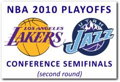 NBA 2010 Playoffs 2nd Round: Los Angeles Lakers vs Utah Jazz