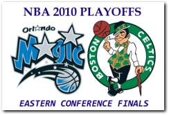 NBA 2010 Playoffs Eastern Conference Finals - Orlando Magic vs Boston Celtics