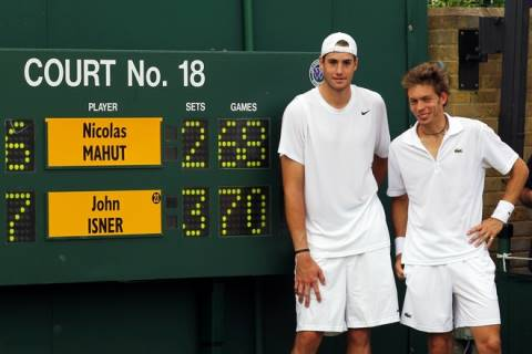 John Isner vs Nicolas Mahut Longest Tennis Match in history