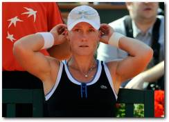 Samantha Stosur French Open 2010 Semifinals match