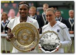 Serena Williams wins Wimbledon 2010 Women's Singles Title