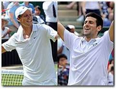 Wimbledon 2010 Men's Semifinals: Tomas Berdych vs Novak Djokovic