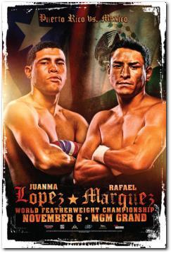 JuanMa Lopez vs Rafael Marquez Boxing Fight