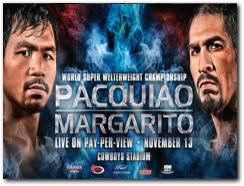 Pacquiao-Margarito Boxing Fight November 13, 2010
