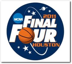 2011 NCAA Basketball Final Four logo