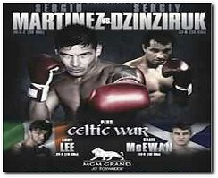 Sergio Martinez vs Sergiy Dzinziruk Boxing Fight