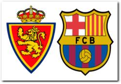 Barcelona vs Real Zaragoza November 19, 2011