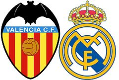 Valencia FC vs Real Madrid FC November 19, 2011