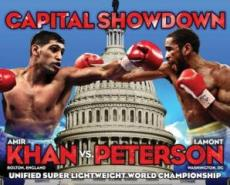 Amir khan vs Lamont Peterson Boxing Fight December 10, 2011