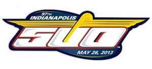 2013 Indianapolis 500 race logo