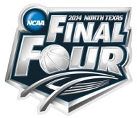 2014 NCAA March Madness Basketball Final Four logo