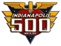2014 Indianapolis 500 race logo