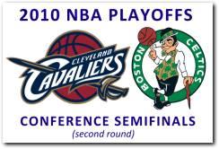 NBA 2010 Playoffs 2nd Round: Cleveland Cavaliers vs Boston Celtics