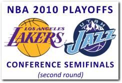 NBA 2010 Playoffs 2nd Round: Los Angeles Lakers vs Utah Jazz