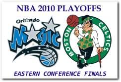 NBA 2010 Playoffs Eastern Conference Finals - Orlando Magic vs Boston Celtics