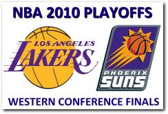 NBA 2010 Playoffs Western Conference Finals - LA Lakers vs Phoenix Suns