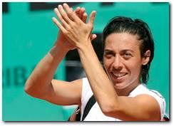 Francesca Schiavone French Open 2010 Semifinals match