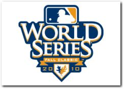 MLB 2010 World Series Baseball Fall Classic