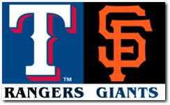 World Series 2010 Game 1: SF Giants vs Texas Rangers