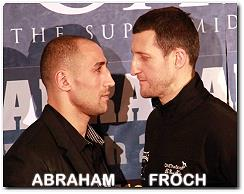 Carl Froch vs Arthur Abraham boxing fight