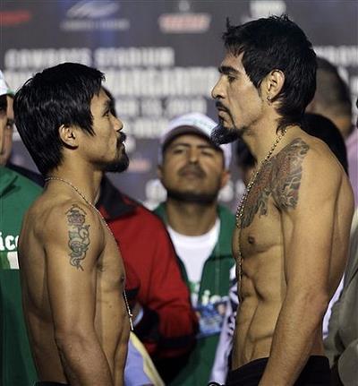 Pacquao-Margarito Weigh-in Photos November 12, 2010