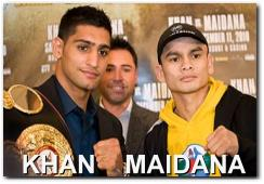 Amir Khan vs Marcos Maidana Boxing Fight