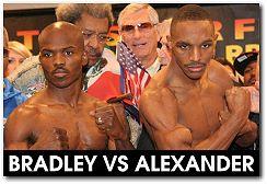 Devon Alexander vs Timothy Bradley boxing fight