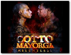 Miguel Cotto vs Ricardo Mayorga Boxing Fight