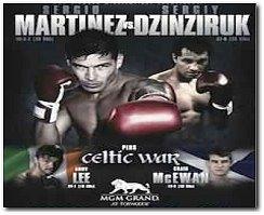 Sergio Martinez vs Sergiy Dzinziruk Boxing Fight