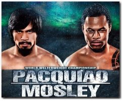Manny Pacquiao vs Shane Mosley Boxing Fight May 7, 2011