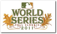 MLB 2011 World Series Baseball Fall Classic