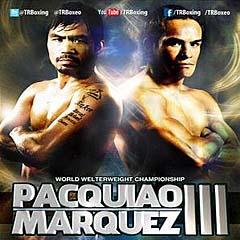 Manny Pacquiao vs Juan Manuel Marquez 3 III Boxing fight